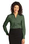 Port Authority; Ladies Crosshatch Easy Care Shirt. L640