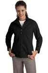Port Authority; Ladies Textured Soft Shell Jacket. L705