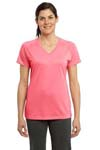 Sport Tek; Ladies Ultimate Performance V Neck. LST700