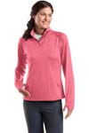 Sport Tek; Ladies Sport Wick Stretch 1/2 Zip Pullover. LST850