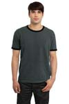 Port & Company; Essential Pigment Dyed Ringer Tee. PC100