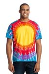 Port & Company; Essential Window Tie Dye Tee. PC149