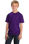 Port & Company; Youth 5*4 oz 100% Cotton T Shirt. PC54Y