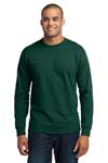 Port & Company; Long Sleeve 50/50 Cotton/Poly T Shirt. PC55LS