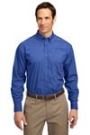 ; Port Authority; Long Sleeve Easy Care  Soil Resistant Shirt. S607