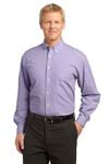 Port Authority; Plaid Pattern Easy Care Shirt. S639