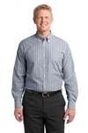 Port Authority; Vertical Stripe Easy Care Shirt. S643