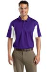 Sport Tek; Side Blocked Micropique Sport Wick Polo. ST655