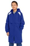 Sport Tek; Youth Long Team Parka. YJST80