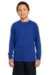 Sport Tek; Youth Long Sleeve Ultimate Performance Crew. YST700LS