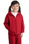 ; Sport Tek; Youth Hooded Raglan Jacket. YST73