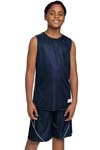 Sport Tek; Youth PosiCharge Mesh Reversible Sleeveless Tee. YT555