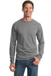 JERZEES; Heavyweight Blend 50/50 Cotton/Poly Long Sleeve T Shirt. 29LS