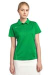 Nike Golf Ladies Dri FIT Sport Swoosh Pique Polo. 452885