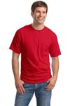 ; Hanes; Beefy T; 100% Cotton T Shirt with Pocket. 5190