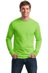Hanes; Tagless; 100% Cotton Long Sleeve T Shirt. 5586
