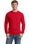 Gildan DryBlend  50 Cotton/50 DryBlend  Poly Long Sleeve T Shirt. 8400