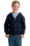 ; JERZEES; Youth NuBlend; Full Zip Hooded Sweatshirt. 993B