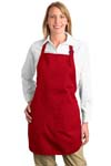 Port Authority; Full Length Apron with Pockets. A500