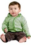 Precious Cargo; Infant Snap Front Reversible Jacket. CAR21