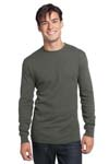 District; Young Mens Long Sleeve Thermal. DT118