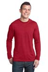 District; Young Mens Textured Long Sleeve Tee. DT171