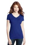District; Juniors Modal Blend Double V Neck Tee. DT282