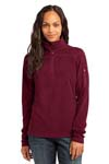 Eddie Bauer; Ladies 1/4 Zip Grid Fleece Pullover. EB221