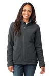 Eddie Bauer; Ladies Wind Resistant Full Zip Fleece Jacket. EB231