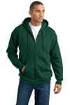 Hanes; Ultimate Cotton Full Zip Hooded Sweatshirt. F283