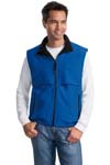 ; Port Authority; Reversible Terra Tek Nylon and Fleece Vest. J749