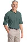 ; Port Authority; Cool Mesh Polo with Tipping Stripe Trim. K431