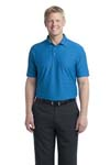 Port Authority; Horizonal Texture Polo. K514