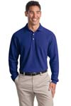 Port Authority; Long Sleeve EZCotton Pique Polo. K800LS