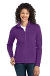 Port Authority; Ladies Microfleece Jacket. L223
