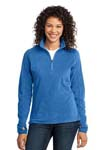Port Authority; Ladies Microfleece 1/2 Zip Pullover. L224