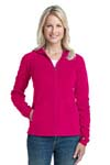 Port Authority; Ladies Microfleece Hoodie. L225