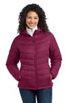 Port Authority; Ladies Mission Hooded Puffy Jacket. L313