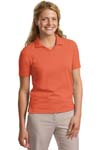 Port Authority; Ladies Rapid Dry Polo. L455