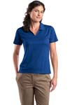 ; Sport Tek; Ladies Dri Mesh; V Neck Polo. L469