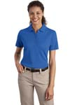 ; Port Authority; Ladies Textured Polo with Wicking. L499