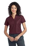 Port Authority; Ladies Vertical Pique Polo. L512