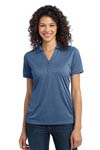 Port Authority; Ladies Performance Cross Dye Polo. L513