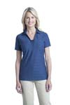 Port Authority; Ladies Horizontal Texture Polo. L514