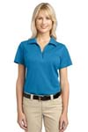 Port Authority; Ladies Tech Pique Polo. L527