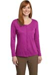 Port Authority ®; Ladies Silk Touch Interlock Cardigan. L530
