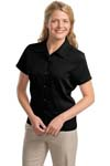 Port Authority; Ladies Easy Care Camp Shirt. L535