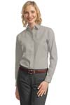 Port Authority; Ladies Long Sleeve Value Poplin Shirt. L632