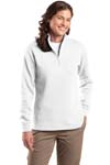 Sport Tek; Ladies 1/4 Zip Sweatshirt. LST253