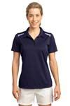 Sport Tek; Ladies Vector Sport Wick Polo. LST670